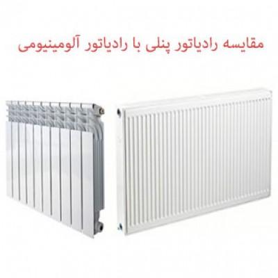 رادیاتور پنلی یا رادیاتور آلومینیومی پره ای